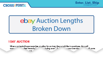 ebay auction lengths