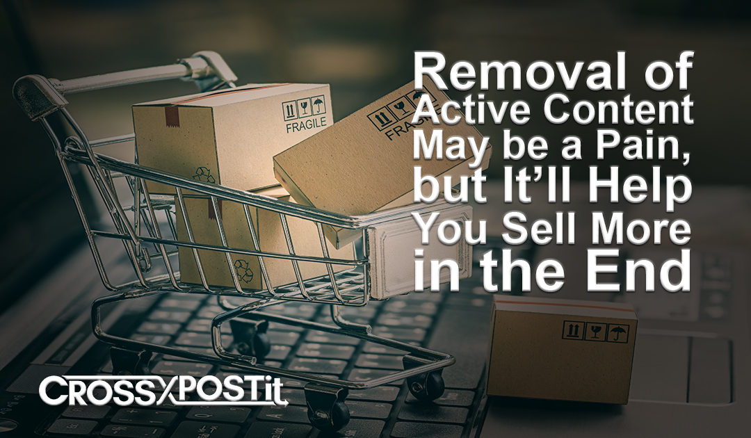 eBay's Removal of Active Content May be a Pain, but It'll Help You Sell More in the End