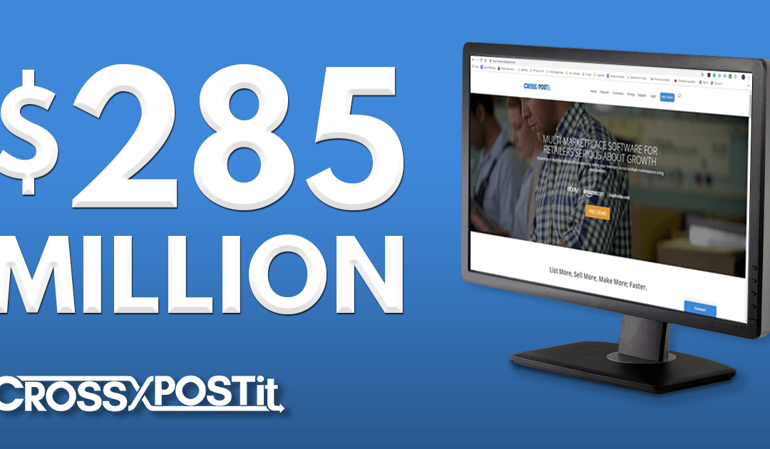 Data Age / CrossPostIt Users Exceed Milestone of $285 Million in Sales Generated